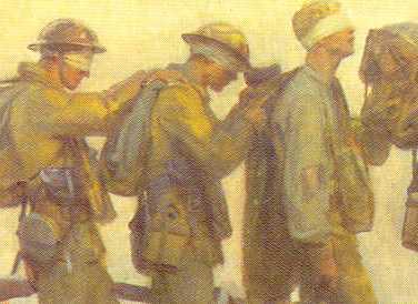 Human Society - Gassed, John Singer Sargent, 1918; Imperial War Museum, London.