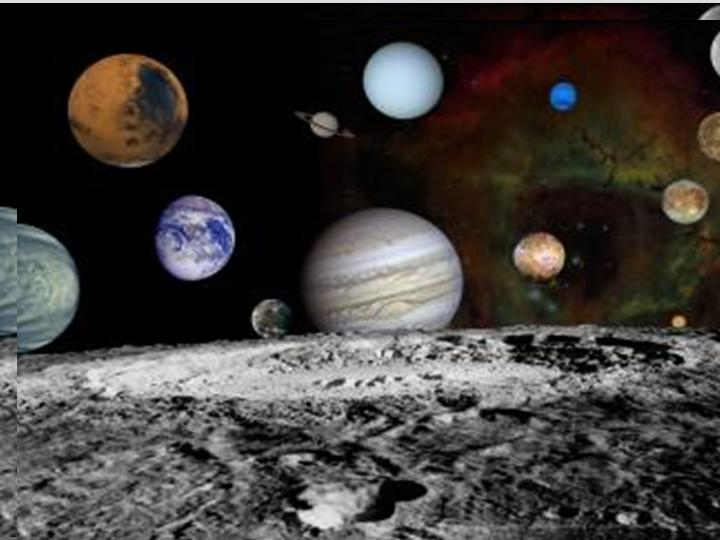 Space and Earth - Solar System Montage (NASA, 2000).
