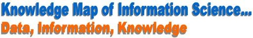 Knowledge Map of Information Science: Data, Information, Knowledge