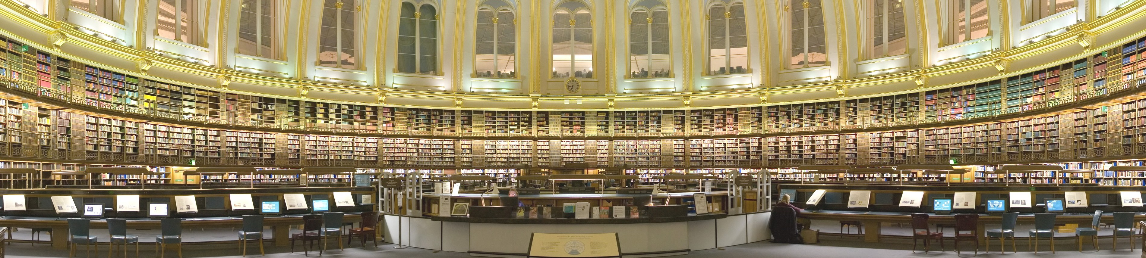 Information Science: Conceptions & Models. The British Museum Reading Room, London. This building used to be the main reading room of the British Library; now it is itself a museum exhibit. Source: Wikipedia.