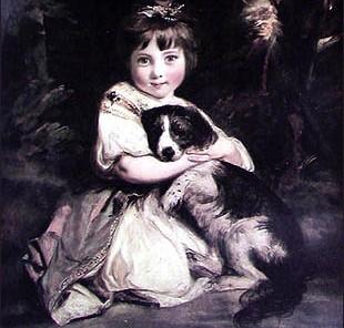 3. Health and Wellbeing. Fields: Veterinary Medicine. Image: Love Me, Love My Dog, Joshua Reynolds (1723-1792)